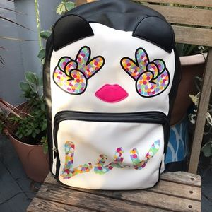 Betsey Johnson Peace LUV backpack